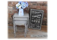Beautiful Unique Vintage Shabby Chic Nest by vintagecountrychic1