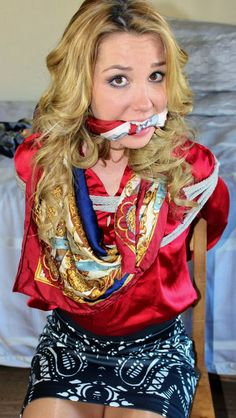 17 Best Scarf Gagged Images