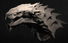 ArtStation - Dragon clay, Gordei Krasnov