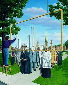 Rob Gonsalves Magic Realism illusion