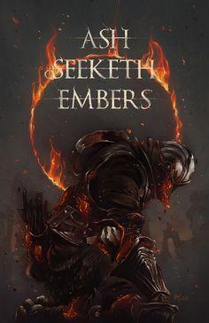 Art of Dark Souls Sif Dark Souls, Arte Dark Souls, Dark Fantasy, Fantasy Art, Soul Saga, Bloodborne Art, Dark Blood, Illustration Mode, Fanart