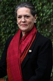 Sonia Gandhi -President Indian National Congress, India. Named by Forbes as one of the World's Most Powerful Women - click to read more about Sonia.