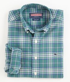 Shop Vineyard Vines for men's sports shirts. The Tucker collection of men's button down shirts includes our Sandy Point Gingham. cotton with button down collar. Men's Shirts, Sports Shirts, Collar Shirts, Tartan, Plaid, Fashion Still Life, Whale Shirt, Man Shirt, Dressing Sense
