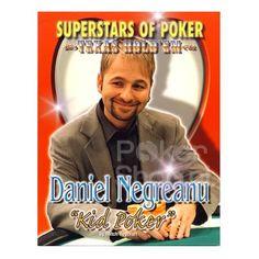 "Superstars of Poker Texas Hold'em, Daniel Negreanu ""Kid Poker' by Mitch Roycroft"