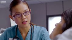 Casualty: Dylan in charge Bbc Casualty, Medical Drama, Lily, Actresses, Crystal, Female Actresses, Orchids, Lilies