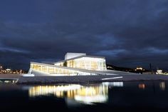 Oslo Opera House, Main contractor :Snøhetta,  Architect: Tarald Lundevall for Snøhetta  Awards and prizes 	World Architecture Festival Cultural Award in 2008 and Mies van der Rohe award in 2009.   (Photo by Kim Erlandsen)