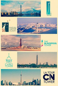Landmark building logos from around the world - Art and design inspiration from around the world - CreativeRoots