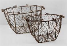 wire baskets - saveoncrafts