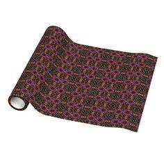 Ecuador Mosaic #gift wrap paper!  $57.95 2'x30' roll