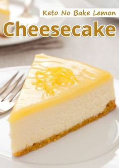 If you dont want the oven on but would love to make a cheesecake no bake lemon cheesecake is for you! Keto No Bake Lemon Cheesecake You must try this recipe. The post Keto No Bake Lemon Cheesecake appeared first on Dessert Park. Low Carb Sweets, Low Carb Desserts, Low Carb Recipes, Low Carb Cakes, Healthy Lemon Desserts, Ketogenic Recipes, Ketogenic Diet, Vegan Recipes, Lemon Cheesecake Recipes