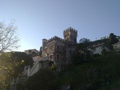 Fortress-style villa in Levanto (La Spezia), Italy. Photo by Franco Guazzi