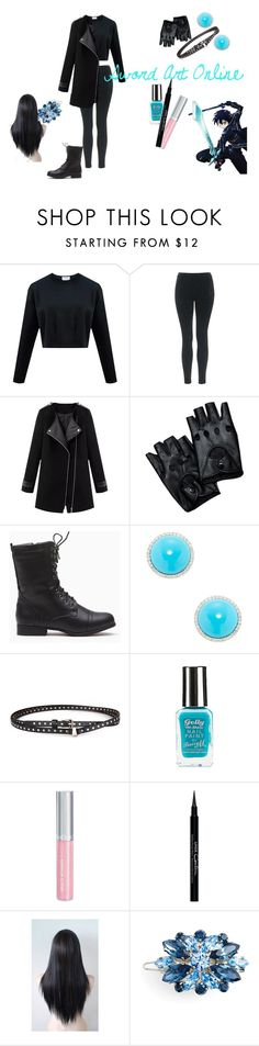 """""""Sword Art Online"""" by xxghoulxx ❤ liked on Polyvore featuring Topshop, Inner Circle Jewelry, Chicnova Fashion, Isadora, Givenchy, L. Erickson, Persona, anime, cosplay and SwordArtOnline"""