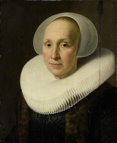 Nicolaes Eliasz. Pickenoy (attr.), Portrait of Margriet Benningh (1565-1641) - Het Rijksmuseum Amsterdam