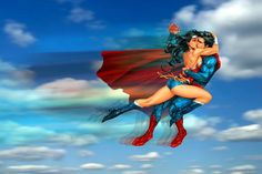 Manip after Kenneth Rocafort's art for Young Romance, Valentine's Special cover, DC Comics. Superman and Wonder Woman: Ramming kiss Superman And Superwoman, Superman X, Superman Wonder Woman, Superman Stuff, Superman Quotes, Gotham Batman, Batman Art, Batman Robin, Dc Comics