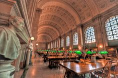 Boston Copley Public Library, Boston, USA