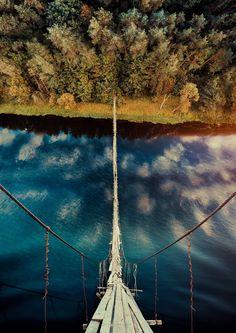 Suspension bridge - )