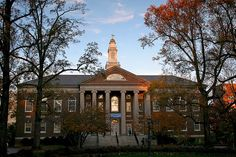 Manning Hall, University of North Carolina at Chapel Hill-home of the library school!