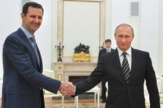 Em visita a Moscou, Assad agradece Putin por bombardeios na Síria