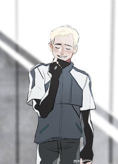 An angel made of 0 and 1 Luther, Quantic Dream, Becoming Human, Video X, I Like Dogs, Detroit Become Human, Memes, Video Games, Character Design
