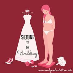 Looking to slim down for your big day? These tips can help! #wedding #slim #weightloss