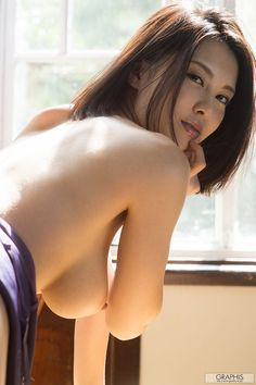 Asian beauty topless
