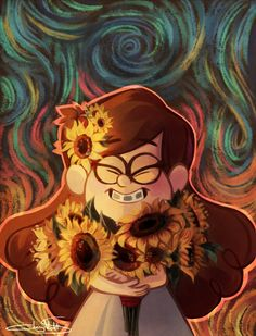 SUNFLOWERS by CherryVioletS on DeviantArt