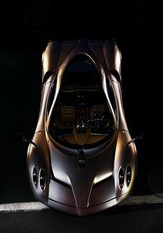 Brown car Pagani Huayra by [JR]  #automotive #transportation #wheels
