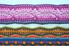 knit & crochet design: Sunshine and Showers - Part 8