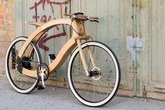 Umweltschutz und Design. Diese ungewöhnliche Kombination erwartet Sie beim Wood-E-Bike, einer Kooperation zwischen der FH Eberswalde und dem Berliner Studio System 180.