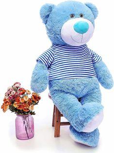 Best Teddy Bear, Fluffy Teddy Bear, Giant Teddy Bear, Big Teddy, Teddy Bear Toys, Cute Teddy Bears, Brown Teddy Bear, Big Stuffed Animal, Disney Stuffed Animals