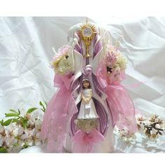 Velas decoradas para comuniones son regalos únicos y originales que nadie olvidará.