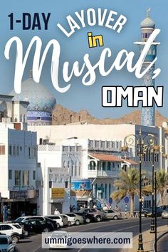 Muscat, Oman is one of the most underrated cities in the Middle East. Unlike its neighbors, it still retains its traditional Bedouin charms. From magnificent Arabesque architecture to miles of pristine beaches, it's got it all. This 1-day itinerary tells you how you can make the most of your layover in Muscat. Iran Travel, Egypt Travel, Asia Travel, Travel Deals, Travel Guides, Travel Tips, Travel Destinations, Worldwide Travel, Beautiful Places To Travel