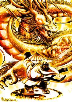 Po, Dragon Warrior by *phryseth on deviantART
