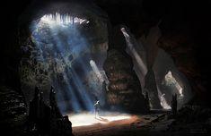 Cave, André Balmet on ArtStation at https://www.artstation.com/artwork/vmodd