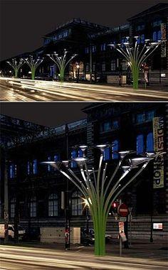 Solar Trees::Urban Art? Yes!