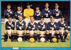 Dundee Vintage – Beyond The Last Man Retro Football, Football Team, Dundee Fc, Typhoo, Online Scrapbook, Back Row, Last Man, Team Photos, Scotland