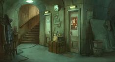The Illusionist / L'Illusionniste (2010). Directed by Sylvain Chomet. Created by Pathé and Django Films