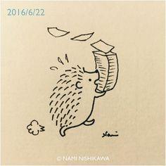 Hurry, hurry ©Nami Nishikawa