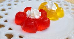 Cute little Jello Flower treats are fun to serve at a Garden Party or Tea Party for your child.