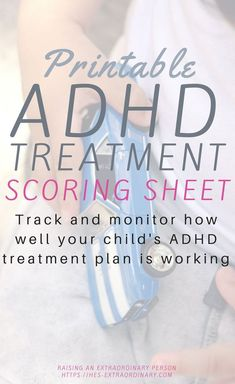 It doesn't matter if you're just starting a new treatment plan, or you've been following the same one for a while. It's important to monitor and assess if your child's ADHD treatment is working. Learn how to tell if your child's ADHD treatment is working and download the scoring sheet to monitor their ADHD treatment over time. #ADHD #ADHDParenting