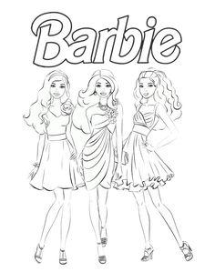 #barbie #lalki #kolorowanka #dziewczynki #kolorowanki #dzieci #rodzina #rozrywka #malowanie #kolorowanie #coloring Art, Art Background, Kunst, Gcse Art