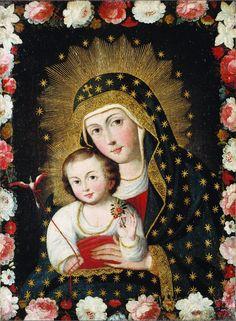 A Cusco style Madonna from Peru.