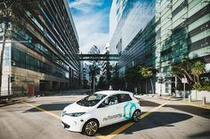 nuTonomy driverless cars on demand
