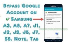 How to Bypass Google Account on Samsung A3, A5, A7, J1, J2, J3, J5, J7, S5, Note and TAB all the Samsung Devices Grand GOOGLE ACCOUNT GUIDE. Works for all