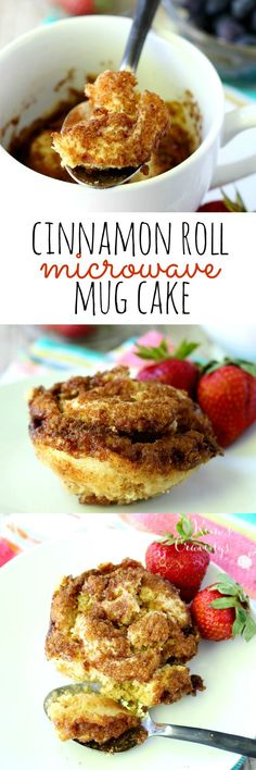This easy cinnamon roll microwave mug cake is the perfect treat when you're craving a little something sweet. In just over a minute, you can be indulging in a scrumptious moist single-sized cinnamon r (Minutes Made)