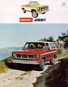 Probably one of my all time favorites, my 1974 GMC Jimmy. Mine was Blue, purchased from Vic Klein. Paul had one too, his was all red. Mike Hickman ended up getting a 1975 Jimmy