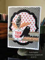 Stampin' Up! Halloween Card