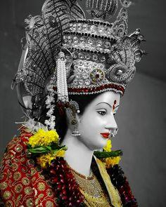 New Beautiful Latest Mata Ji Navratri Wallpaper And Wishes Collection By WaoFam. Durga Maa Pictures, Durga Images, Ganesh Images, Lakshmi Images, Lord Shiva Hd Images, Ganesha Pictures, Lord Durga, Durga Ji, Saraswati Goddess