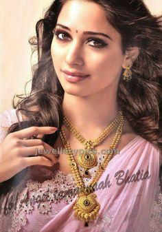 Khazana latest Ad with Tamanna - Latest Jewellery Designs