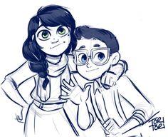 Mari and Adrien's kids